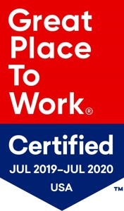 2019 Great Place to Work Certified Logo